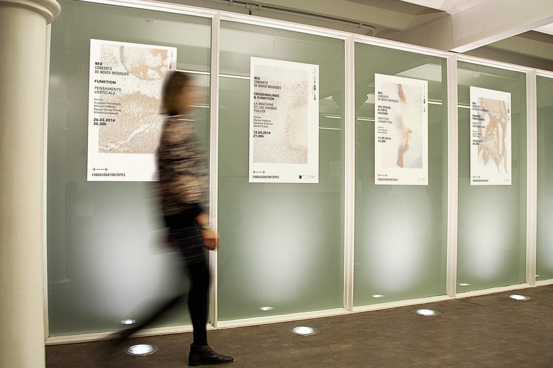 Diseño gráfico, fotografía Ana Madrid. Ciclo de conciertos música clásica. Neu music